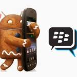 BBM Android Gingerbread Versi XDA Telah Tersedia