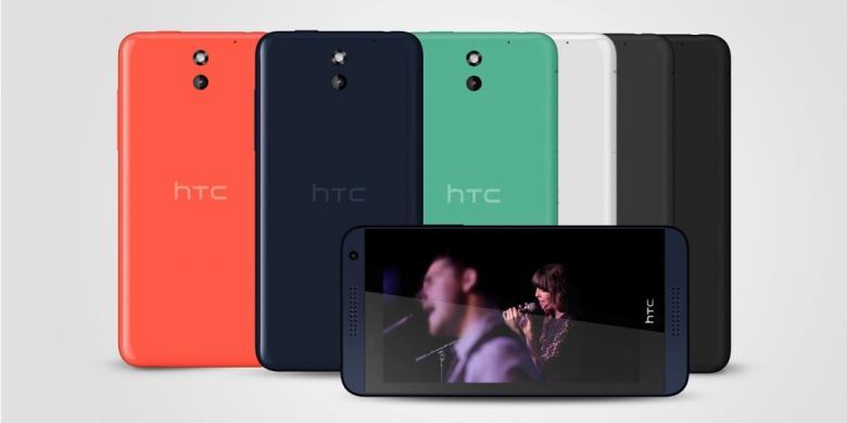 HTC Desire 816, Andalkan Kualitas Audio Lewat HTC BoomSound