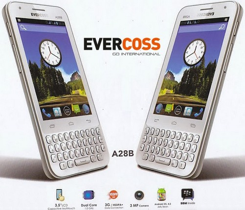 Evercoss A28B. Evercoss A28B Harga