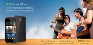 HTC Desire 210, Masuk India Usung Dual Core Harga 1.6 Jutaan