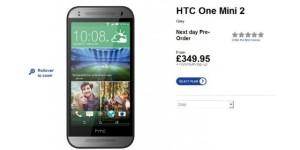 HTC One Mini 2 Resmi Dijual di Inggris, Berikut Harganya