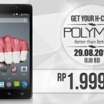 Harga Himax Polymer Octa, Smartphone Tangguh Rp 2 Juta