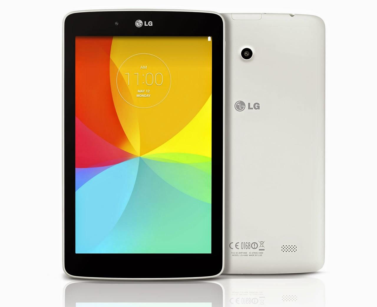 Harga Dan Spesifikasi LG G Pad 80 LTE Tablet KitKat 4G