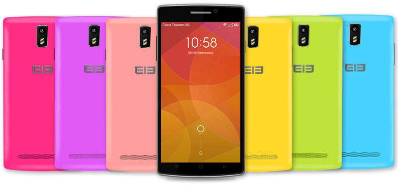 Elephone G5, Android Quad Core Banyak Pilihan Warna