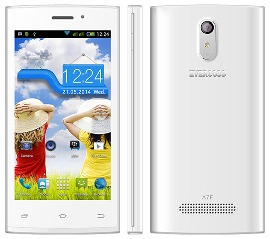 Evercoss A7F Android KitKat Layar 45 Inci Terbaru