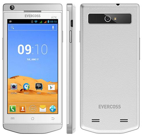 Evercoss A7K, Android 4,5 Inci Dengan Desain Menarik - Wantekno
