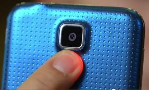 Fitur Pendeteksi denyut nadi Galaxy S5