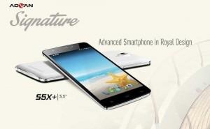 Advan Signature S5X Smartphone Kamera 13MP Layar 55 Inci