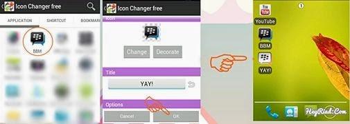 Cara Mengganti Icon dan Nama Aplikasi Android