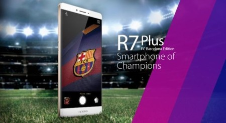 Oppo R7 Plus FC Barcelona Edition