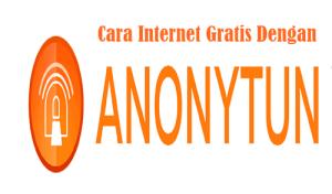 Cara Internet Gratis Telkomsel dengan Anonytun