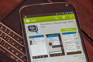 Cara Install BBM di Android