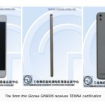 Gionee GN9005, Hp Android Tertipis di Dunia 5 mm
