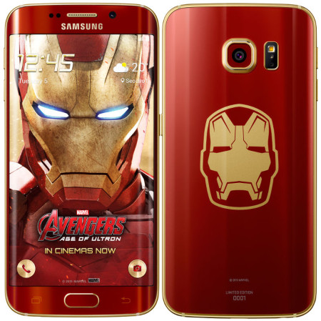 Samsung Galaxy S6 Edge Iron Man Edition