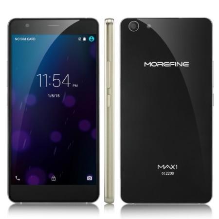 MoreFine Max 1 Smartphone 4G LTE Dengan Desain Yang